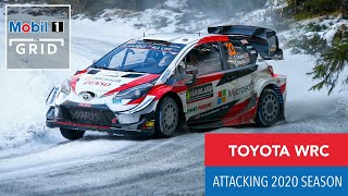 Toyota Gazoo Racing New Wrc Drivers | Mobil 1 The Grid