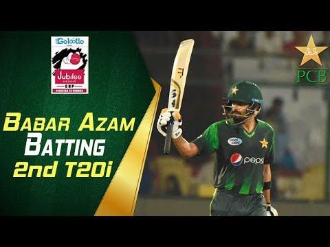 Babar Azam Match Winning Innings   2nd T20i   Pakistan Vs Windies 2018   Jubilee Insurance Cup   PCB