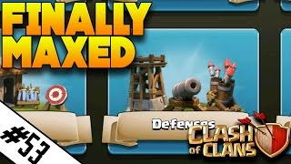 "FINALLY ALL MAX BUILDINGS! | ""ROAD TO MAX TH9 EP.53"" 