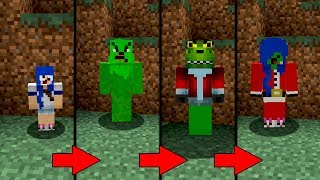 SE O CICLO DE VIDA DO GRINCH EXISTISSE NO MINECRAFT (GRINCH NATAL)