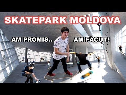Am vizitat SkatePark-ul din Republica Moldova!!