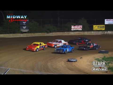 LEBANON MIDWAY SPEEDWAY - PURE STOCK - HEAT - 7-27 -18