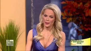 Supermodels Heidi Albertsen and Carol Alt on Fox News, October 2013
