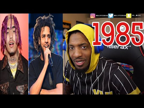 He teaches instead of dissing! RESPECT! | J Cole 1985 | REACTION