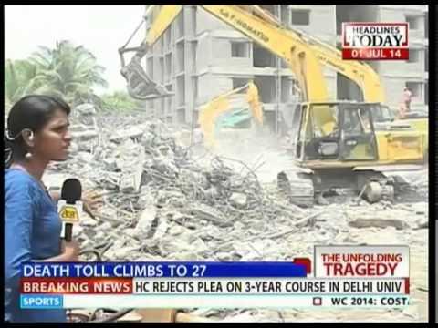 Chennai building collapse: Soil condition was unsuitable for construction