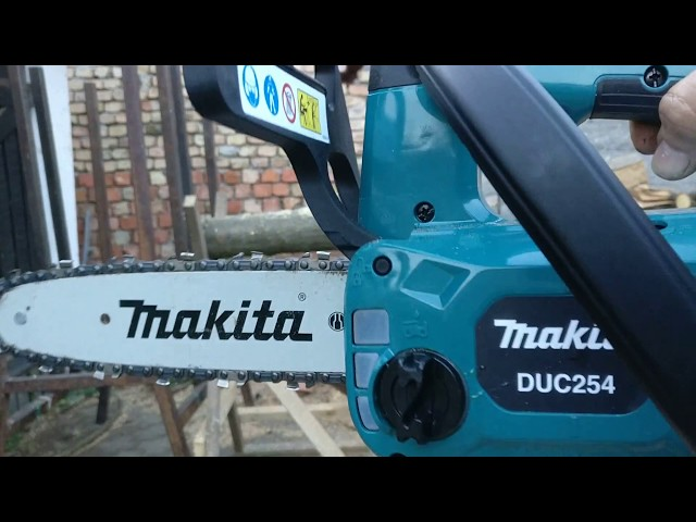 Makita DUC254Z . How much to work with a 18V 5Ah battery.
