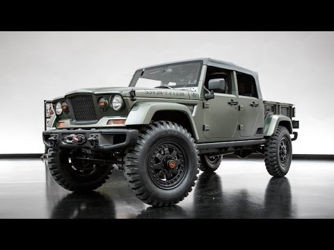 2016 Jeep Kaiser Crew Chief 715 Concept Detailed