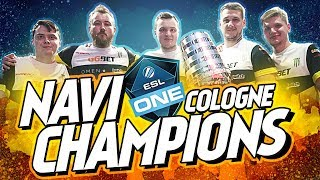NAVI - ESL One Cologne 2018 Champions