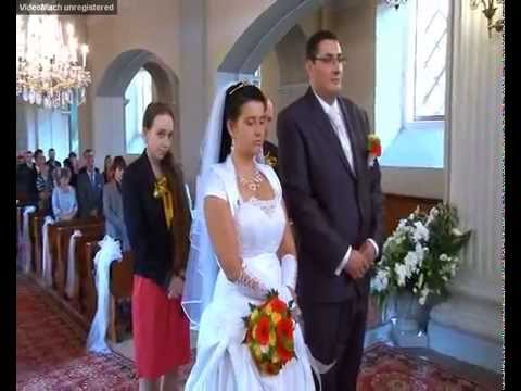 Church Wedding Evangelical In The Vistula Youtube