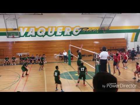 Rancho vs. Bolsa Boys Varsity Volleyball