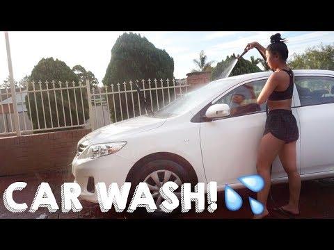 CAR WASH! // DAILY VLOG | THERESATRENDS