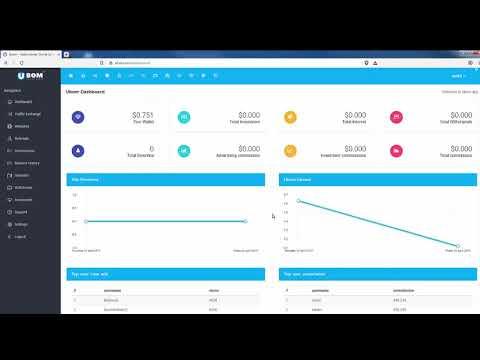 UBOM Интересный БУКС с заработком криптовалюты на полном автомате Обзор возможностей UBOM
