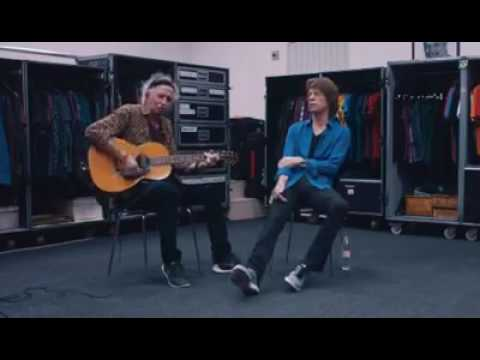 Mick Jagger & Keith Richards acoustic version  honky-tonk Woman 2016