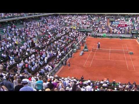 Roland Garros 2013 Semi final V. Azarenka vs M. Sharapova 720p Full Match HD (russian)