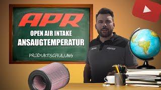 APR | Produktschulung: 2.5 TFSI Open Air Intake - Ansaugtemperatur