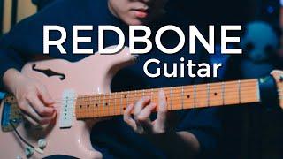 redbone on guitar - melody, chords and improv