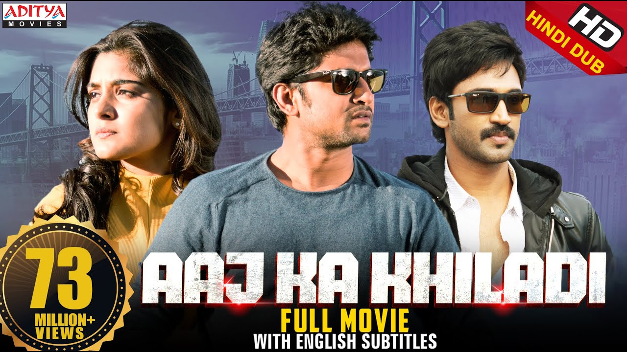 Aaj Ka Khiladi (Ninnu Kori) Latest Hindi Dubbed Movie 2020 || Nani, NivethaThomas, Aadhi Pinisetty
