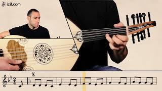 تعلّم عزف أغنية عقباوي يا خال على العود | izif.com
