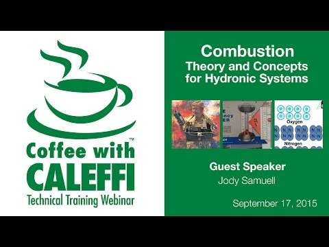 Combustion: Theory and Concepts for Hydronic Systems