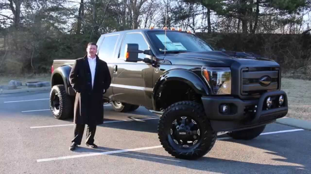 Lifted 2015 F150 >> 2015 Ford F350 Black Ops Dually Lifted Fully Loaded - YouTube