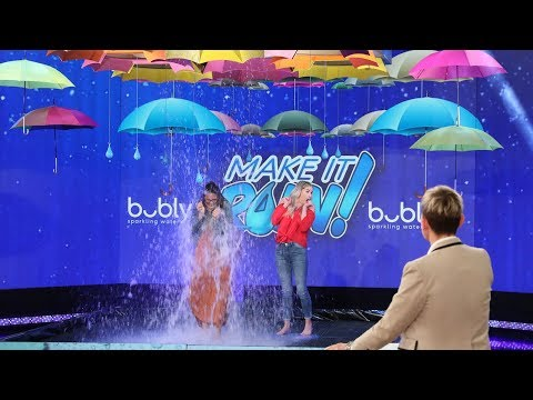 Best Friends 'Make It Rain' with bubly