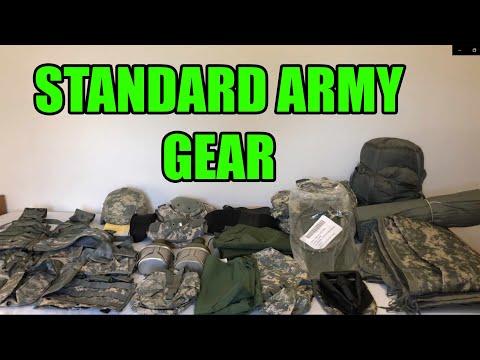 Army Issue Gear