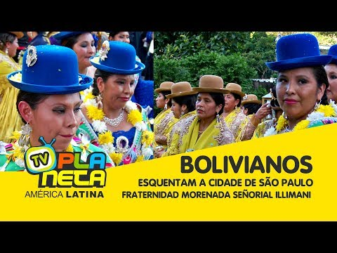 Bolivianos esquentam São Paulo