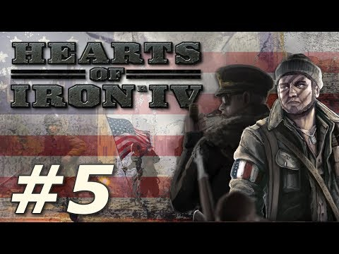 Hearts of Iron IV: Kaiserreich | American Union State - Part 5