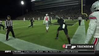 Isaac Zico's One-Handed Catch vs. Ohio State | Big Ten Football
