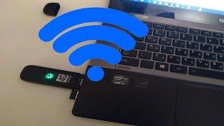 Как раздать internet 4G с USB Modem по Wi-Fi вашего ноутбука