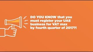 Freaking Out About VAT in UAE? - My Business Consulting DMCC is expert in UAE VAT Law! thumbnail