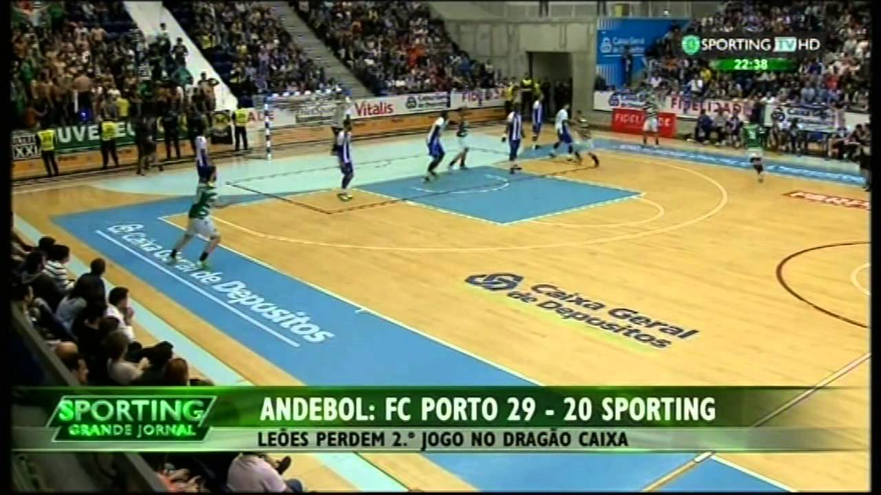 Andebol :: Play-off Final 2Jogo :: Porto - 29 x Sporting - 20 de 2014/2015