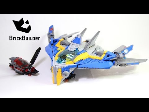 Lego Super Heroes 76021 The Milano Spaceship Rescue - Lego Speed Build