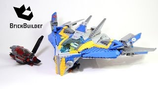 Lego Super Heroes 76021 The Milano Spaceship Rescue - Lego Speed Build
