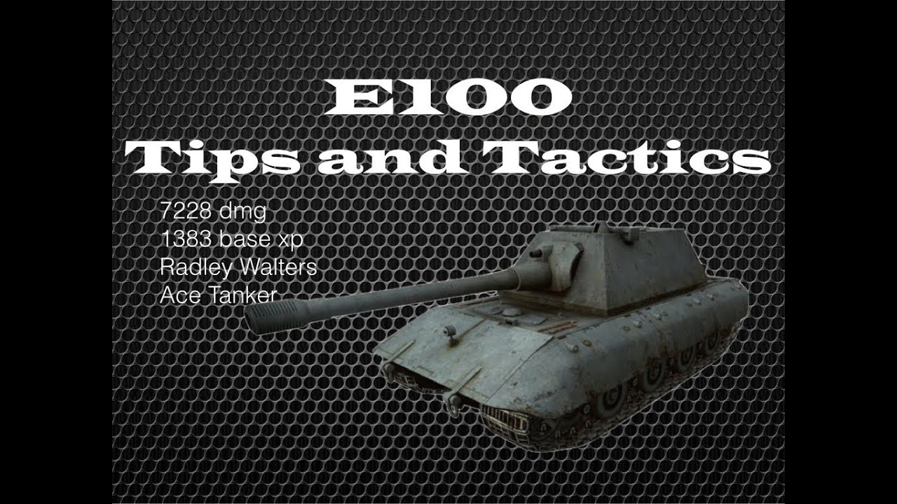 E100 Play And Tips Radley Walters
