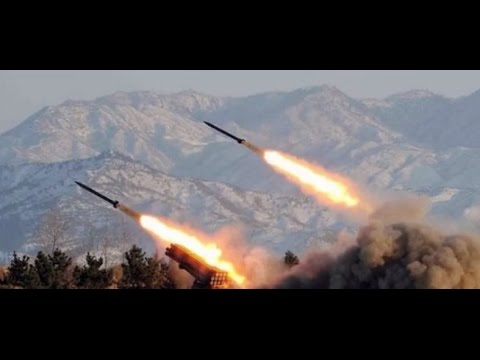 Seoul: North Korea fires short-range missiles amid war games