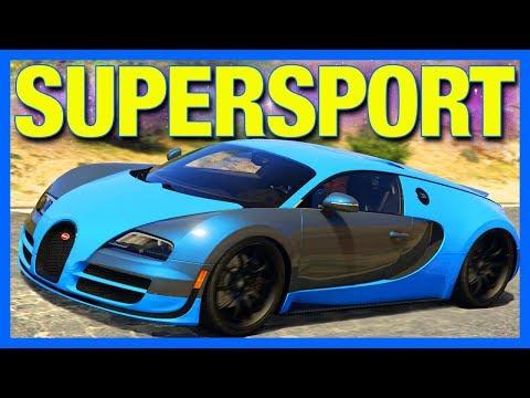 GTA 5 : BUGATTI VEYRON SUPERSPORT vs ADDER!!