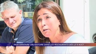 Yvelines | Pass sanitaire obligatoire dans les restaurants dès le 9 août