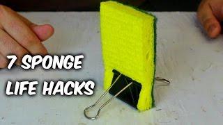7 Sponge Life Hacks