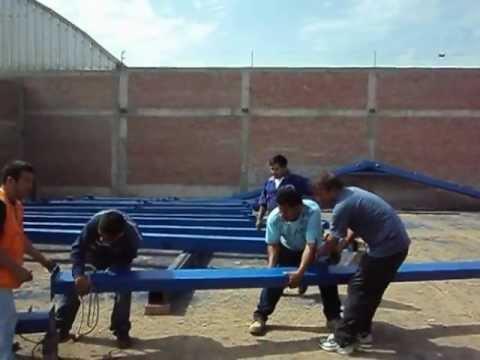 Arenando, Pintura y Montaje Industrial de Grupo Barrientos S.A.C. Lurin-Lima-Peru