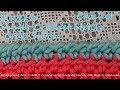 Crochet Edgings/Borders the CRAB stitch- the REVERSE SINGLE CROCHET stitch/SUBTITLES