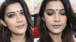 Indian Makeup Tutorial | Soft Smokey Eyes | Super Style Tips