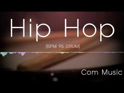 Hip hop drum backing track 95(drum only)