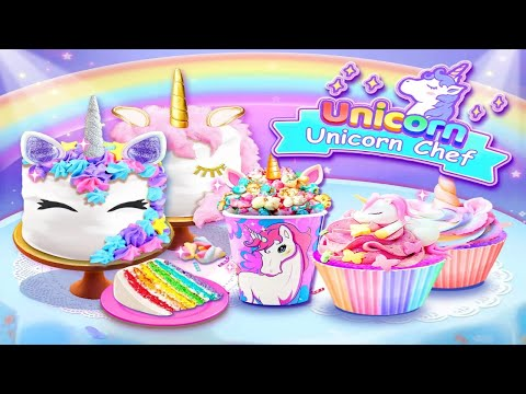Unicorn Chef: Cooking Games For Girls Android Gameplay