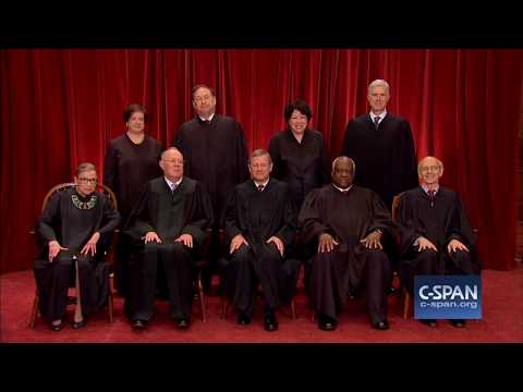 U.S. Supreme Court 2017 Class Photo (C-SPAN)