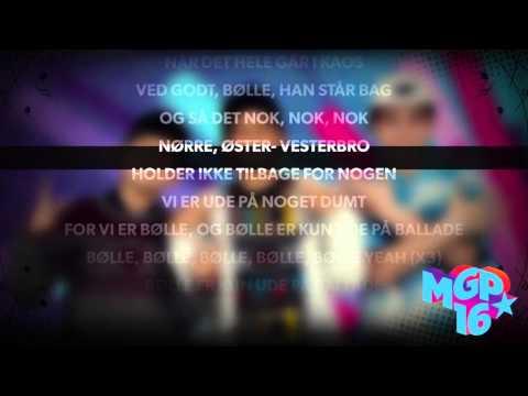 Bølle - Ballade | Karaoke | MGP 2016