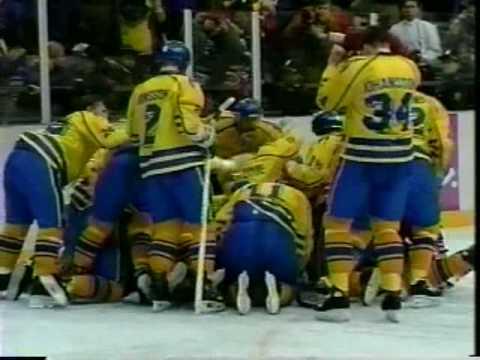 1994 Winter Olympics Canada vs. Sweden