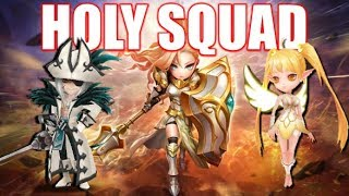 Jeanne Ultimate Light Team & Insane 1 HP Moment !! | Summoners War