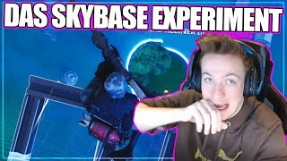 SKYBASE EXPERIMENT in FORTNITE !! 😱🔥 | Fortnite Battle Royale (Deutsch)