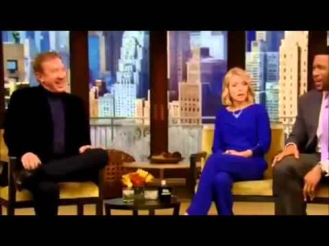 Tim Allen Interview  Live with Kelly and Michael 11 25 2014